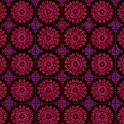 Spinograph - Boysenberry Wallpaper