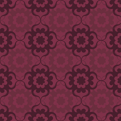 Disco Weave - Burgandy Wallpaper