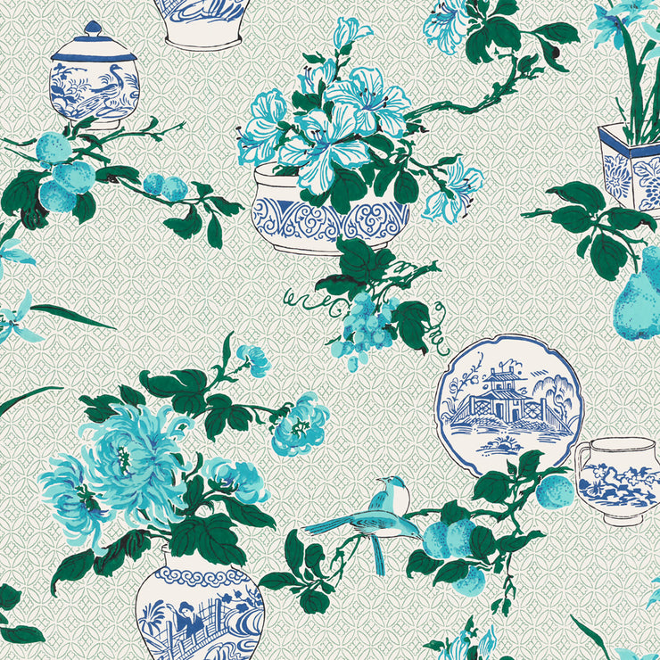 Fine China Wallpaper