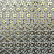 Michelle's Starburst - Azul on Gold Wallpaper