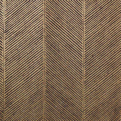 Copper Herringbone Wallcovering Wallpaper
