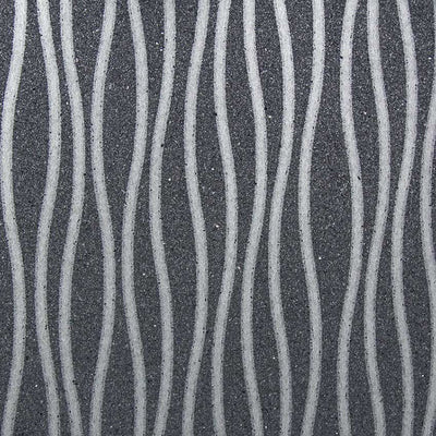 Charcoal Wavy Wallcovering Wallpaper