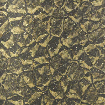Gold Crinkle Wallcovering Wallpaper