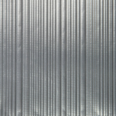 Corrugated - Silver Wallpaper