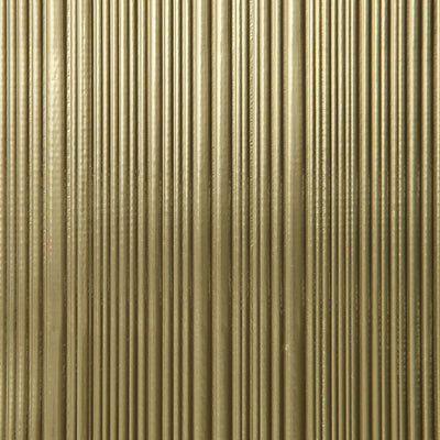 Corrugated - Gold Wallpaper