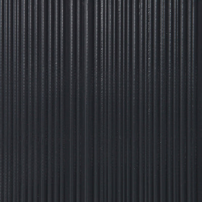 Corrugated - Charcoal Wallpaper