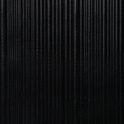 Corrugated - Black Wallpaper