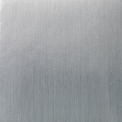 Brushed Metal - Silver Wallpaper