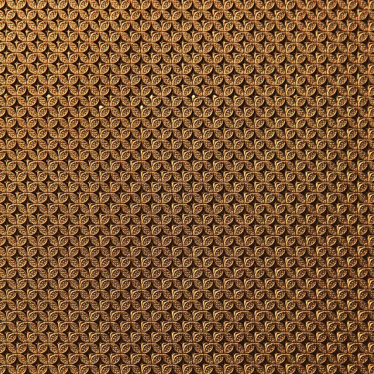 Embossed Metal - Copper Wallpaper