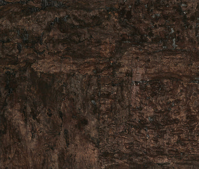 Mocha and Onyx Cork Wallpaper