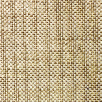 Large Beige Grasscloth Wallpaper