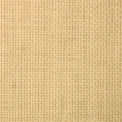 Blonde Grasscloth Wallpaper