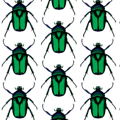 Beetle - Green Mural