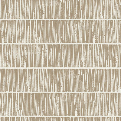 Etched - White Gold Wallpaper