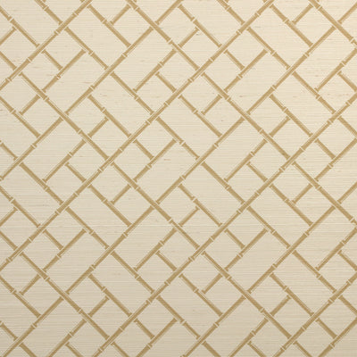Bamboo Lattice Wallpaper