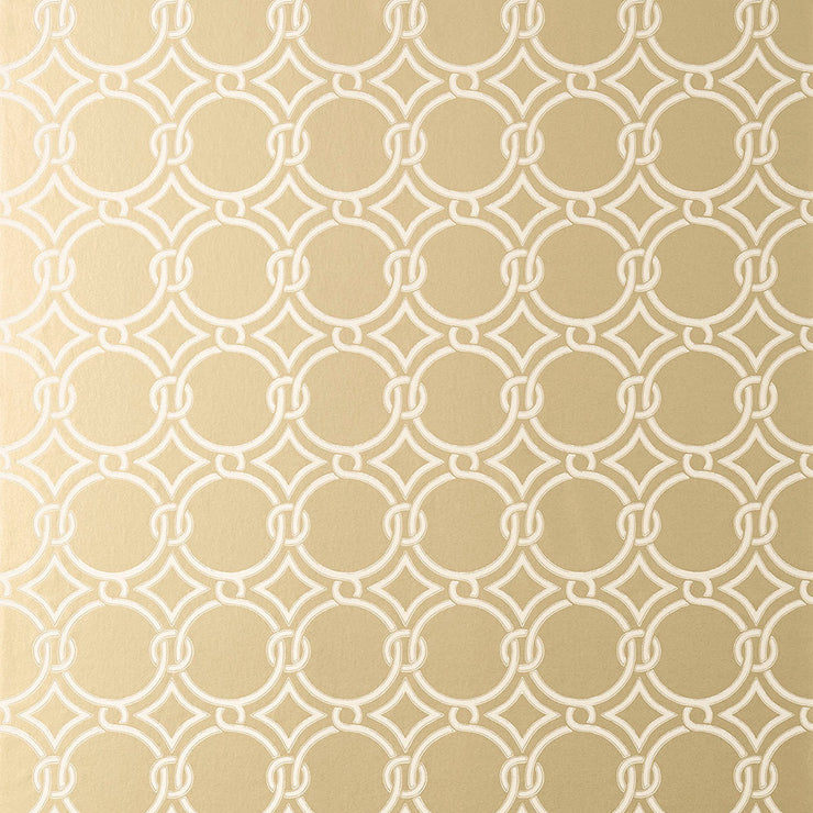 Gilon - Metallic Champagne Wallpaper