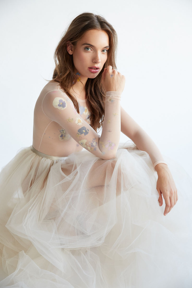 4 layer tulle skirt - Emily Riggs