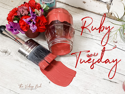 Vintage-Bird-Furniture-Paint-Ruby-Tuesday