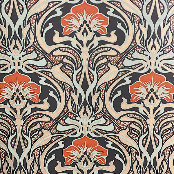 Patterned Wallpaper for Furniture Up-cycling - Flora Nouveau