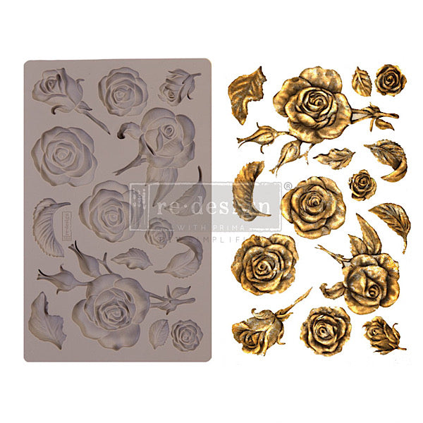 Re-Design Decor Mould - Fragrant Roses
