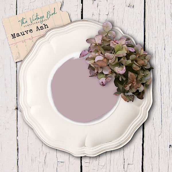 Mauve-Ash-Vintage-Bird-Furniutre-Paint