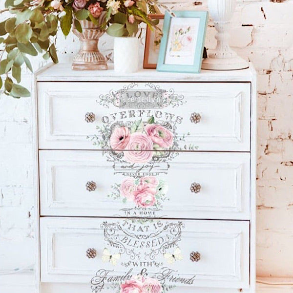Re-Design Decor Transfer - Overflowing Love