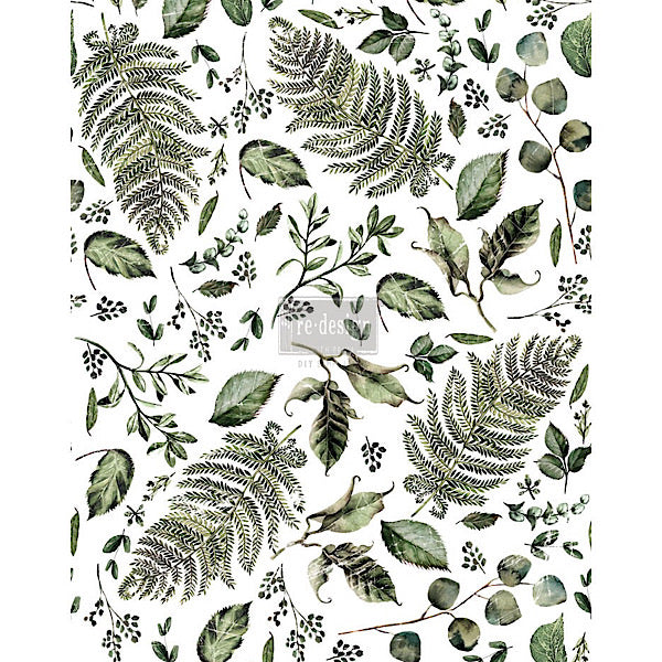 Redesign Decor Transfer - Fern Woods - Bird on the Hill Designs
