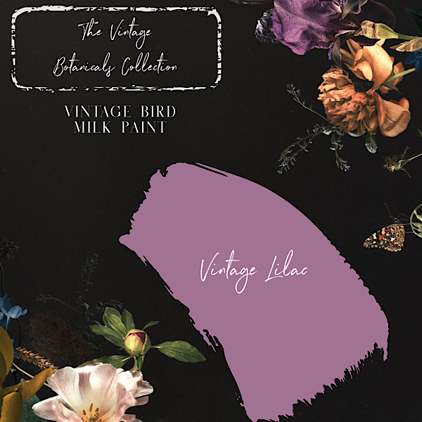 Vintage Botanicals Milk Paint Collection - Vintage Lilac