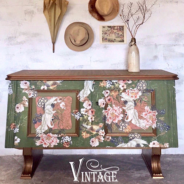Re-Design Decor Transfer - Elegance & Flowers