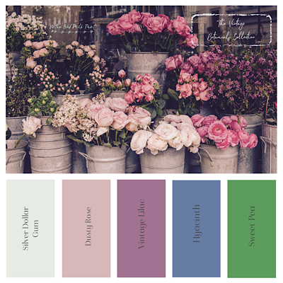 Vintage Botanicals Milk Paint Collection - Sweet Pea