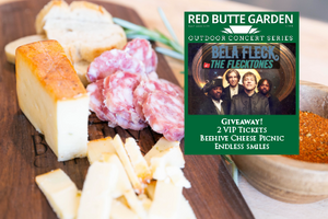 Win Bela Fleck tickets and make friends with Beehive Cheese