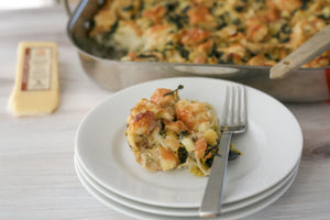 Savory Bread Pudding With Pour Me A Slice