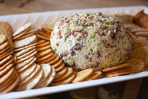 New Years Promontory Cheese Ball