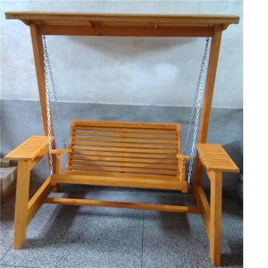 Schommel Balkon Patio Salon Exterieur Vintage Shabby Chic Outdoor Wooden Garden Furniture Retro Mueble De Jardin Swing Chair