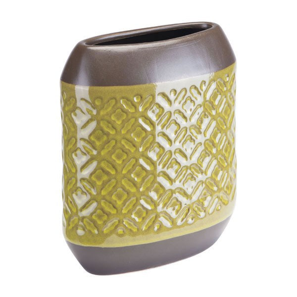 Zuo Square Planter Sm Olive Green