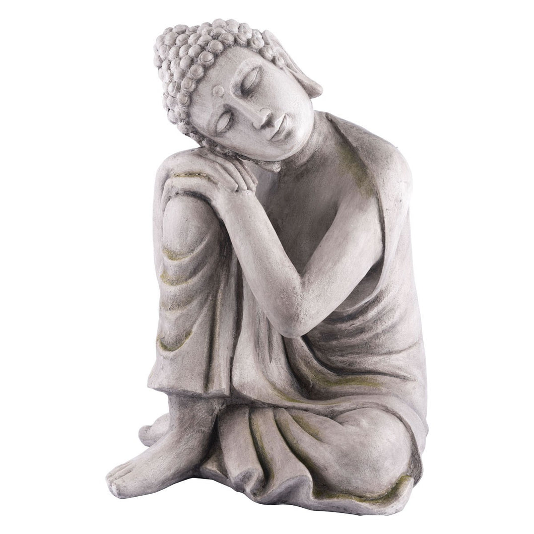 Zuo Buddha Thinking Gray