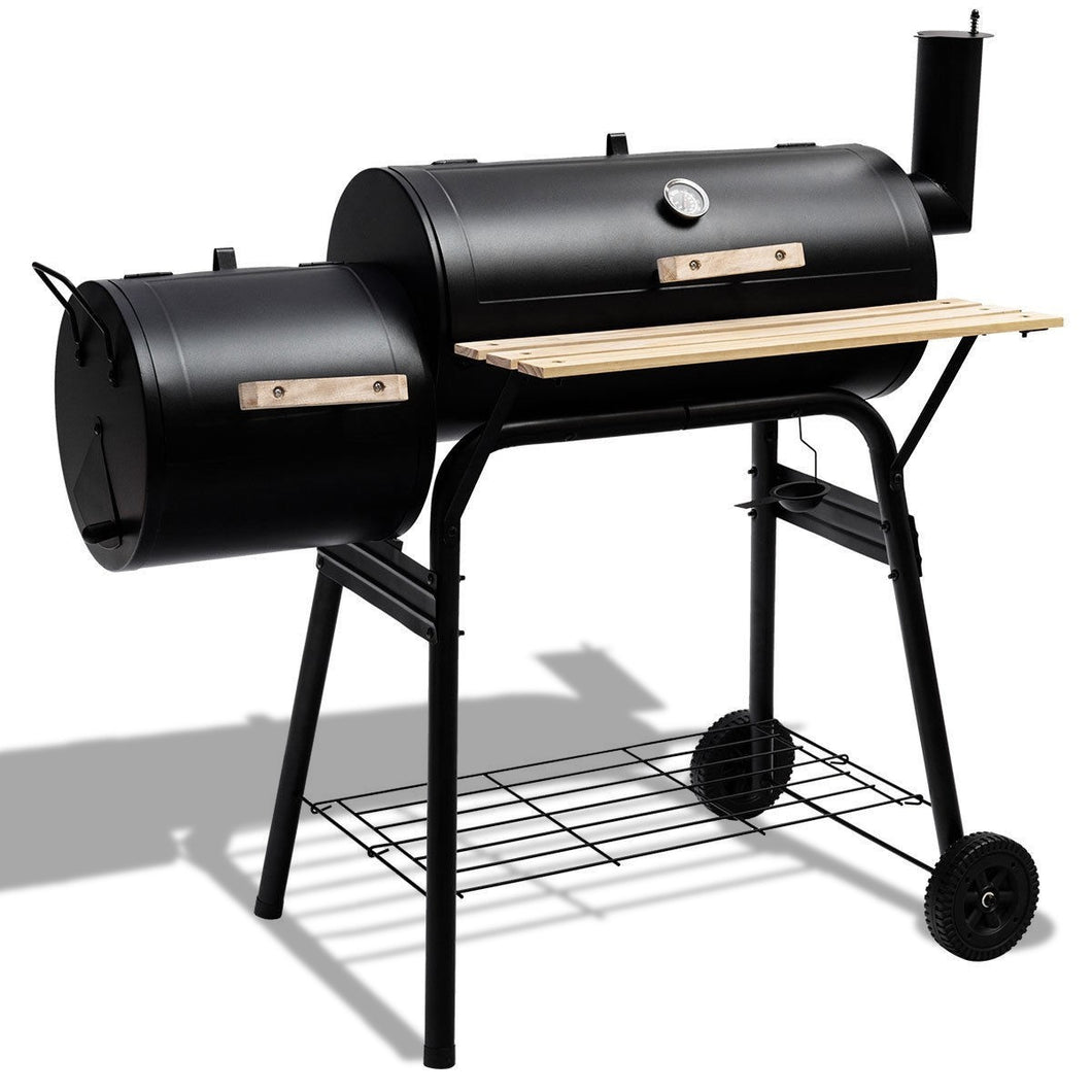 Goplus Outdoor BBQ Grill Barbecue Pit Patio Cooker