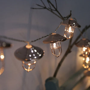 Creative LED Light String Party Garden Decorative Fairy Lights Battery Operated 10 LED String for Outdoor Fence Patio
