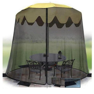 New Yard Umbrella Screen Cover Mosquito Bug Insect Net Repellents Outdoor Patio Netting Garden Pest Control Supplies 335*220cm