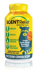 Scent Relief Raccoon Cover Scent