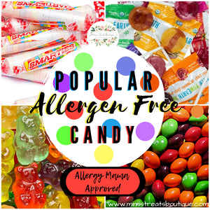 Popular Allergen Free Candy and Non-Edible Treat Lists