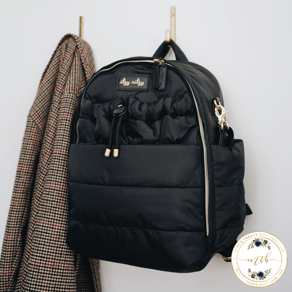 Itzy Ritzy Dream Backpack™ Midnight Black Diaper Bag