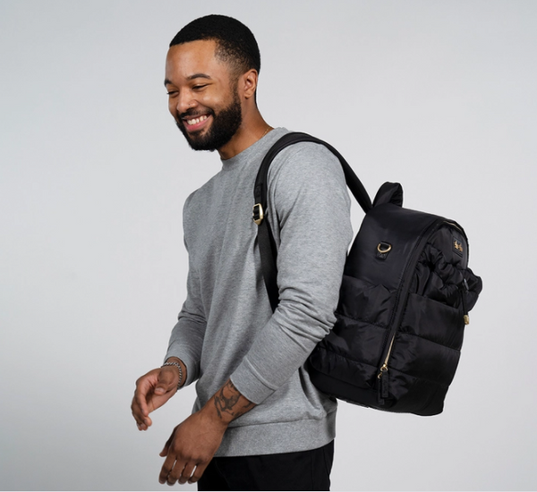 Dream Backpack™ Midnight Black Diaper Bag