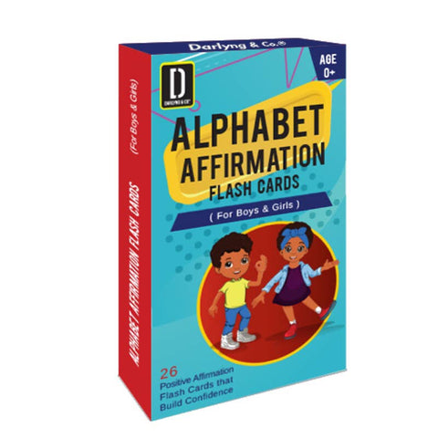 Abc Affirmation Flash Cards for Boys & Girls *Pre-Order*