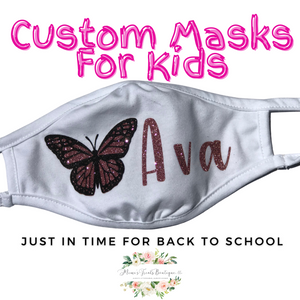 Children Customizable Cloth Face Covering