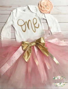 Joliyah Designs CUSTOM First Birthday Outfit