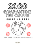 2020 Quarantine Time Capsule Children's Coloring Ebook