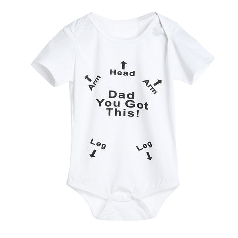 Dad You Got This - Baby Romper
