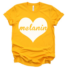 "Load image into Gallery viewer, ""Melanin Love"" Tee"
