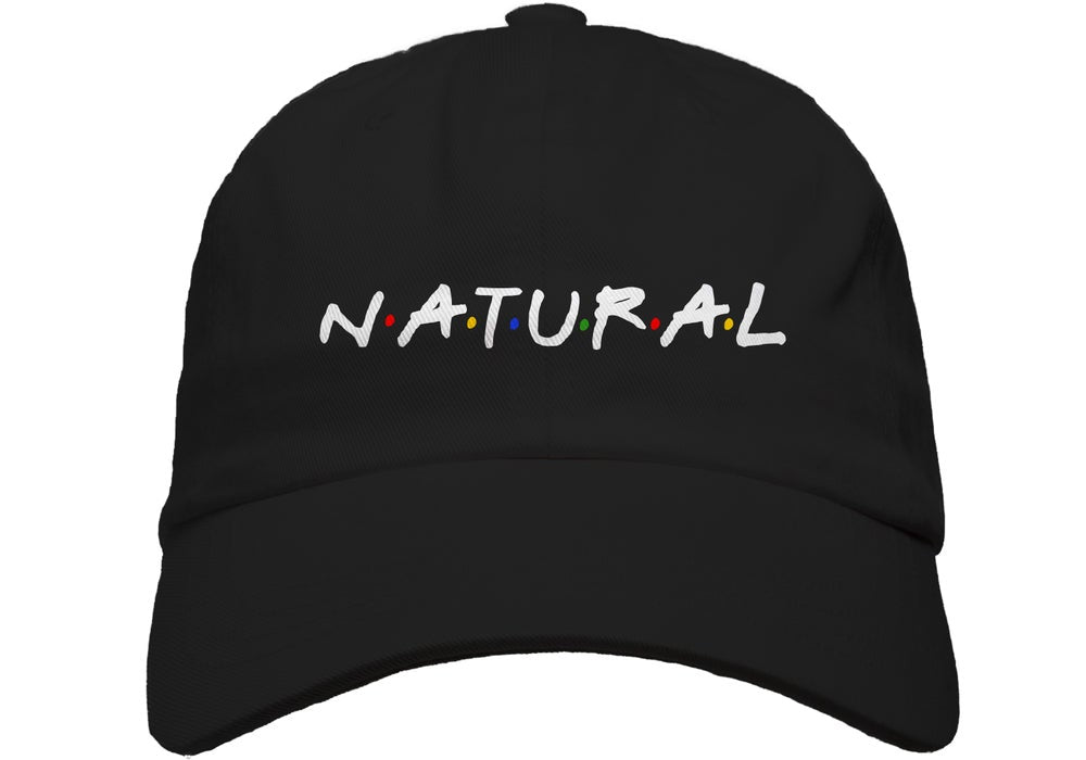 """Natural"" Puff Cap"